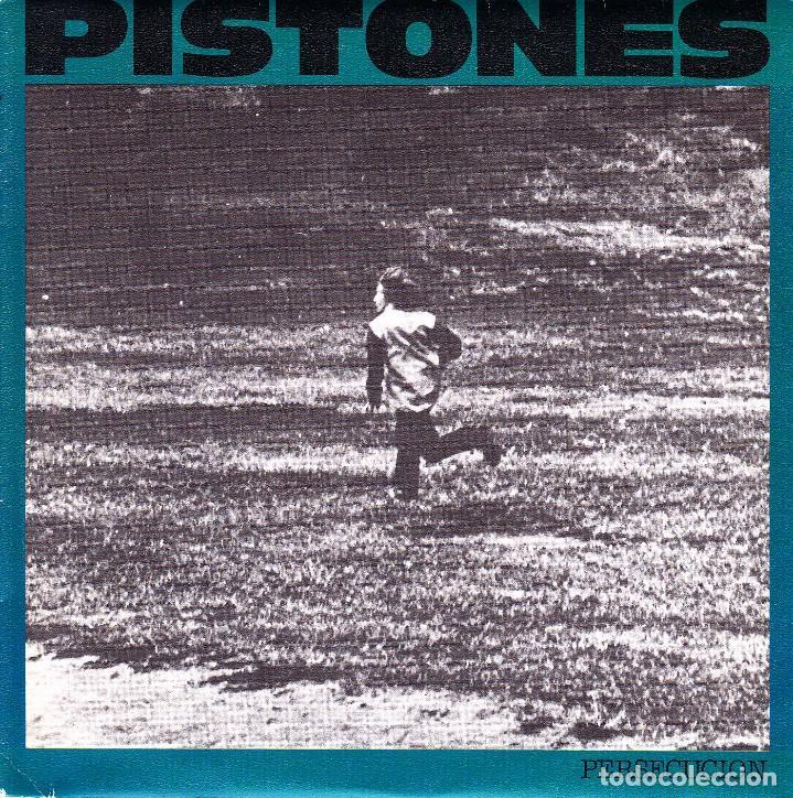 PISTONES - PERSECUCION + GALAXIA SINGLE SPAIN PROMO 1984 (Música - Discos - Singles Vinilo - Grupos Españoles de los 70 y 80)