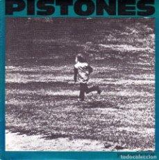 Discos de vinilo: PISTONES - PERSECUCION + GALAXIA SINGLE SPAIN PROMO 1984. Lote 87324148