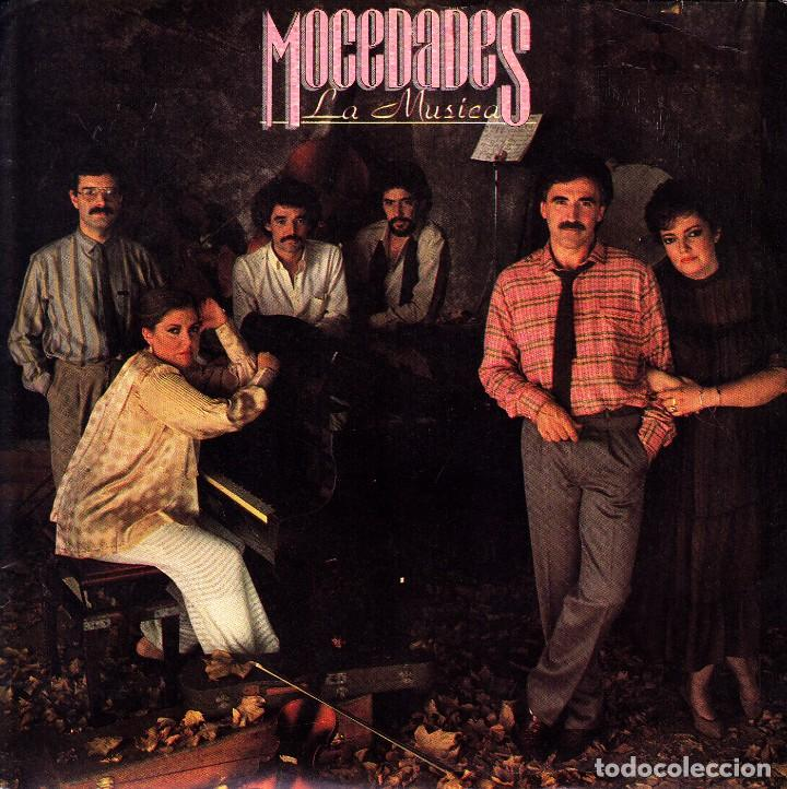 MOCEDADES - LA MUSICA SINGLE SPAIN PROMO 1984 EXCELLENT CONDITION (Música - Discos - Singles Vinilo - Grupos Españoles de los 70 y 80)