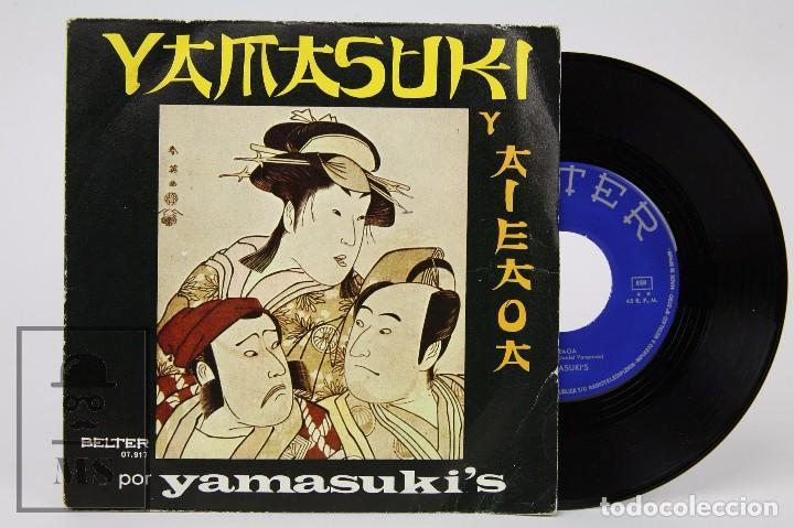 DISCO SINGLE DE VINILO - YAMASUKI'S. YAMASUKI Y AIEAOA - BELTER, 1971 - DANIEL VANGARDE (Música - Discos - Singles Vinilo - Pop - Rock - Extranjero de los 70)