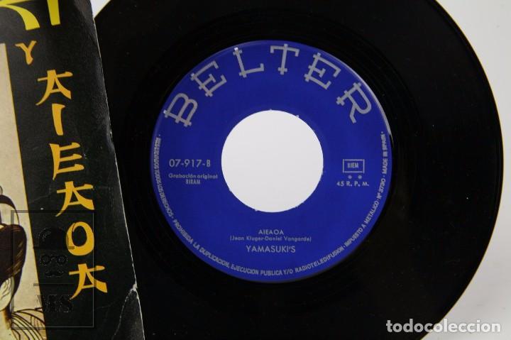 Discos de vinilo: Disco Single de Vinilo - Yamasuki's. Yamasuki y Aieaoa - Belter, 1971 - Daniel Vangarde - Foto 2 - 87336260