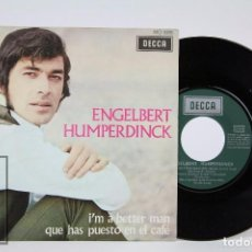 Discos de vinilo: DISCO SINGLE DE VINILO - ENGELBERT HUMPERDINK. I'M A BETTER MAN - DECCA / COLUMBIA, 1969. Lote 87336324