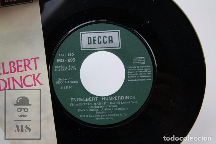 Discos de vinilo: Disco Single de Vinilo - Engelbert Humperdink. I'm a Better Man - Decca / Columbia, 1969 - Foto 2 - 87336324