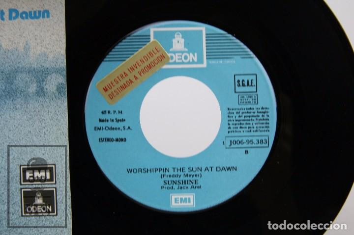 Discos de vinilo: Disco Single de Vinilo - Sunshine. Melody Lady - EMI / Odeon, 1974 - Foto 2 - 87337716