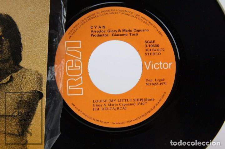 Discos de vinilo: Disco Single de Vinilo - Misaluba. Louise. My Little Ship / Cyan - RCA, 1971 - Foto 2 - 87337804