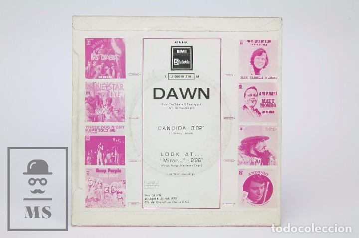Discos de vinilo: Disco Single de Vinilo - Dawn. Candida / Look At... - EMI / Stateside, 1970 - Foto 3 - 87337864
