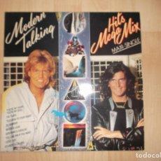Discos de vinilo: MODERN TALKING HITS MEGA MIX 1988 HANSA. Lote 87340684
