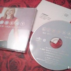 Discos de vinilo: LINDSAY NO DREAM IMPOSSIBLE CD SINGLE - EUROVISION 2001 UK. Lote 87341124