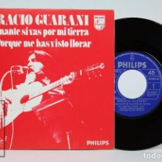 Discos de vinilo: DISCO SINGLE DE VINILO - HORACIO GUARANI / GUARANY. CAMINANTE SI VAS POR....- PHILIPS, 1975. Lote 87341788