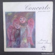 Discos de vinilo: ORCHESTRE DE SAINT PREUX:CONCERTO POUR UNE VOIX/FRANCE. Lote 87351880