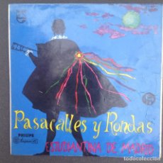 Discos de vinilo: ESTUDIANTINA DE MADRID:PASACALLES Y RONDAS. Lote 87352552