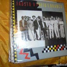 Discos de vinilo: FAUSTO. A PRETO E BRANCO. CBS, EDITADO EN PORTUGAL. 1989. IMPECABLE(#). Lote 248796485