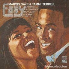 Discos de vinilo: LP MARVIN GAYE & TAMMI TERRELL EASY VINILO 180G + MP3 SOUL. Lote 171114884