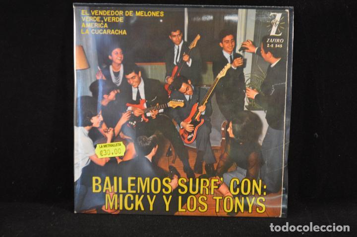 MICKY Y LOS TONYS - VERDE VERDE+3 - EP (Música - Discos de Vinilo - EPs - Grupos Españoles 50 y 60)