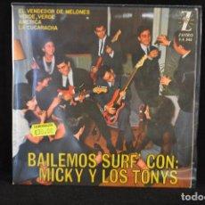 Discos de vinilo: MICKY Y LOS TONYS - VERDE VERDE+3 - EP. Lote 87363100