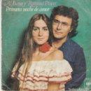 Discos de vinilo: SINGLE AL BANO Y ROMINA POWER. PRIMERA NOCHE DE AMOR 1977. DISCO PROBADO Y NORMAL. Lote 87373656