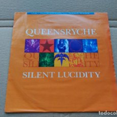 Discos de vinilo: SINGLE QUEENSRYCHE - SILENT LUCIDITY - EMI UK 1992 VG+. Lote 87374064