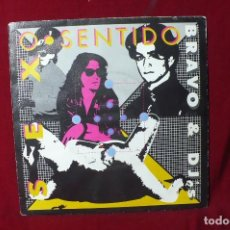 Discos de vinilo: SEX O SENTIDO BRAVO & DJ'S / PROMOCIONAL, 1990.. Lote 87374108