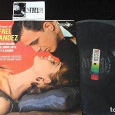 Discos de vinilo: ? LOVE SONGS OF RAFAEL HERNANDEZ LP DECCA ?– DL4585 EDICIÓN USA. Lote 87378488