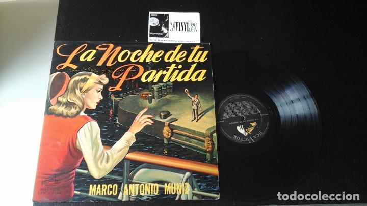 ? MARCO ANTONIO MUÑIZ ?– LA NOCHE DE TU PARTIDA LP RCA VICTOR ?– LPV 7122 EDICIÓN VENEZUELA (Música - Discos - LP Vinilo - Grupos y Solistas de latinoamérica)
