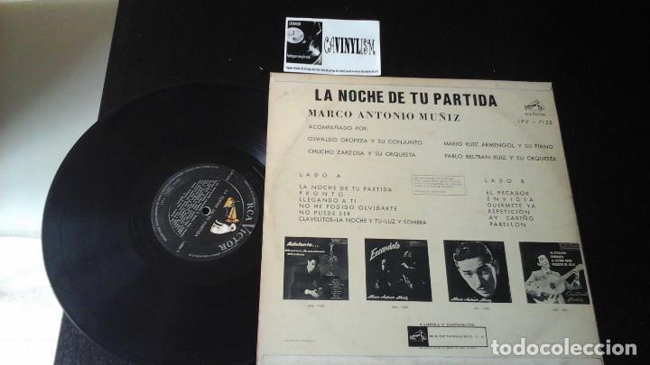 Discos de vinilo: ? Marco Antonio Muñiz ?– La Noche De Tu Partida LP RCA Victor ?– LPV 7122 Edición Venezuela - Foto 2 - 87379716