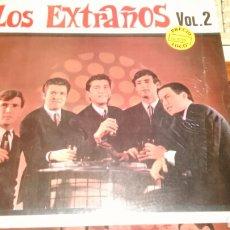 Discos de vinilo: LOS EXTRAÑOS VOL.2 LP HISTORIA DE LA MUSICA POP ESPAÑOLA.PRECINTADO. Lote 87380288