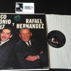 Discos de vinilo: MARCO ANTONIO MUÑIZ... RAFAEL HERNANDEZ LP: RCA VICTOR ?– MKL-1576 . Lote 87387800