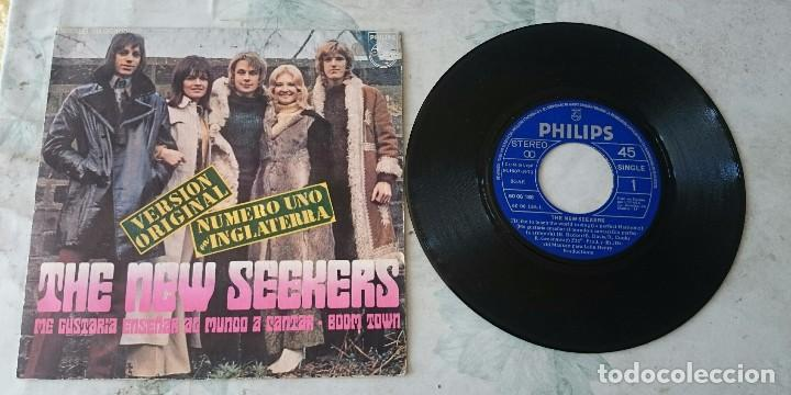 THE NEW SEEKERS: I'D LIKE TO TEACH THE WORLD TO SING / BOOM TOWN (PHILIPS 1972) (Música - Discos - Singles Vinilo - Pop - Rock - Extranjero de los 70)