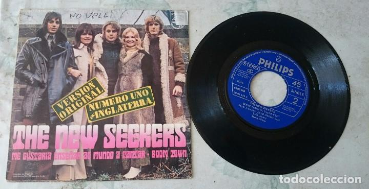 Discos de vinilo: The New Seekers: Id like to teach the world to sing / Boom town (Philips 1972) - Foto 2 - 87388492