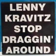 Discos de vinil: LENNY KRAVITZ - STOP DRAGIN´AROUND / IDEM - NUEVO PROMO. Lote 87393304
