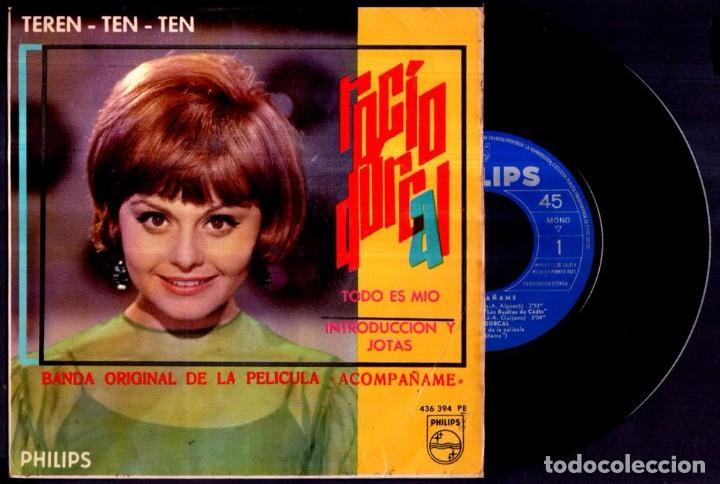 ROCIO DURCAL - TEREN TEN TEN / TODO ES MIO +2 - SPAIN EP PHILIPS 1966 - VINYL (Música - Discos - Singles Vinilo - Solistas Españoles de los 50 y 60)