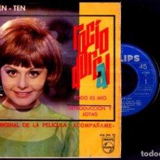Discos de vinilo: ROCIO DURCAL - TEREN TEN TEN / TODO ES MIO +2 - SPAIN EP PHILIPS 1966 - VINYL. Lote 87400520