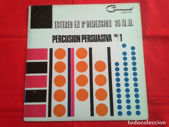 TERRY SNYDER Y SUS ESTRELLAS – PERCUSION PERSUASIVA - COMMAND 1964 LP (Música - Discos - LP Vinilo - Orquestas)