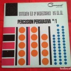 Discos de vinilo: TERRY SNYDER Y SUS ESTRELLAS – PERCUSION PERSUASIVA - COMMAND 1964 LP. Lote 87401324