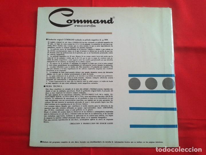 Discos de vinilo: Terry Snyder Y Sus Estrellas – Percusion Persuasiva - Command 1964 LP - Foto 2 - 87401324