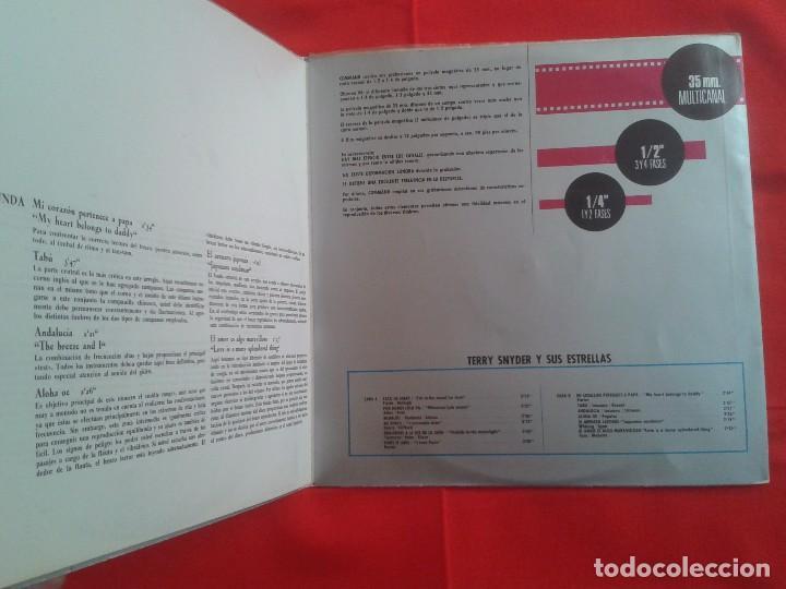 Discos de vinilo: Terry Snyder Y Sus Estrellas – Percusion Persuasiva - Command 1964 LP - Foto 4 - 87401324