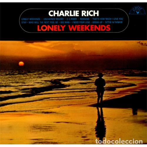 Discos de vinilo: Charlie Rich – lonely weekends 69 !! C.C. Rider, Country Rockabilly, org usa sun records, impecable - Foto 3 - 87404668