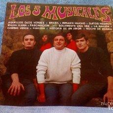Discos de vinilo: LOS 5 MUSICALES - SU PRIMER LP - SELLO PALOBAL PH 1026 - AÑO 1968. Lote 87406104