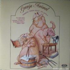 Discos de vinilo: GRANJA ANIMAL (VARIOS ARTISTAS): PRIMERA ÓPERA ROCK EN CATALÁ, DE JOAN VIVES I LLUIS Mª ROS. Lote 87406916