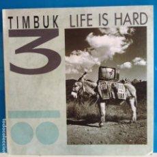 Discos de vinilo: TIMBUK 3 - LIFE IS HARD / SIN GRABAR - NUEVO PROMO. Lote 87413220