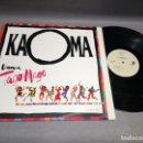 Discos de vinilo: 1018- KAOMA- DANCA TAGO MAGO- MAXI SINGLE 12 - PORTADA VG +/++ / DISCO VG +/++. Lote 87416692