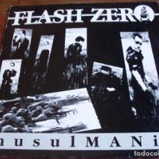 Discos de vinilo: FLASH ZERO - MUSULMANIA - IMPACT RECORDS 1990 - MAXI. Lote 87422180