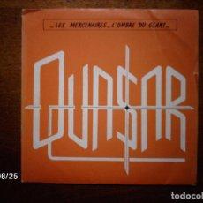 Discos de vinilo: QUASAR - LES MERCENAIRES + L´OMBRE DU GEANT . Lote 87424732