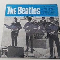 Discos de vinilo: DISCO ANTIGUO DE LOS THE BEATLES WHAT YOU´RE DOING . Lote 87425348