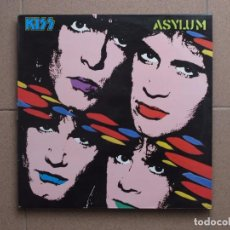 Discos de vinilo: KISS - ASYLUM. Lote 87425696
