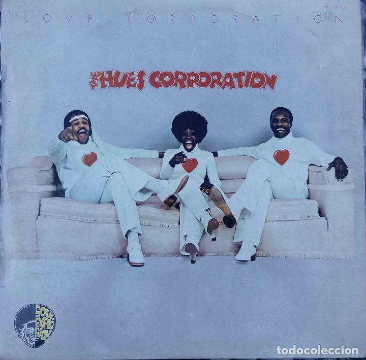 THE HUES CORPORATION. LOVE CORPORATION. LP ESPAÑA. (Música - Discos - LP Vinilo - Funk, Soul y Black Music)