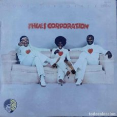 Discos de vinilo: THE HUES CORPORATION. LOVE CORPORATION. LP ESPAÑA.. Lote 87446964