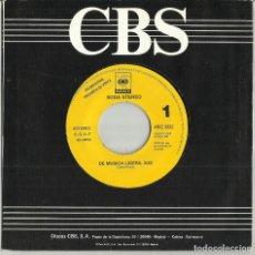 Discos de vinilo: SODA STEREO SINGLE PROMOCIONAL DE MÚSICA LIGERA. ESPAÑA 1991 /2. Lote 172772920
