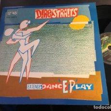 Discos de vinilo: DIRE STRAITS (TWISTING BY THE POOL) MAXI ESPAÑA 1983 (VIN-Q). Lote 195446540