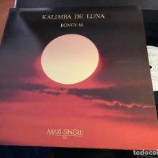 Discos de vinilo: BONEY M (KALIMBA DE LUNA) MAXI ESPAÑA 1984 (VIN-Q). Lote 87462920